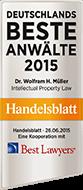 Award - Deutschlands beste Anwälte